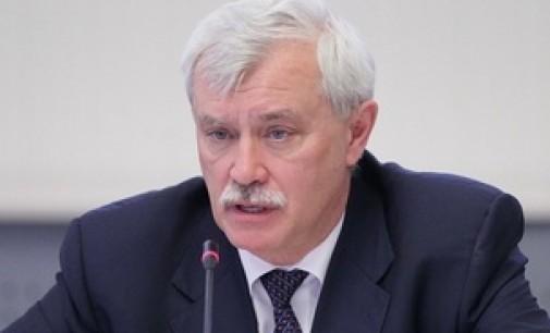 Георгий Полтавченко: импортозамещение — великолепный путь
