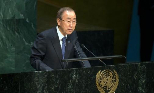 Мы сможем продвигать культуру мира, только активно выступая против несправедливости, заявил Пан Ги Мун