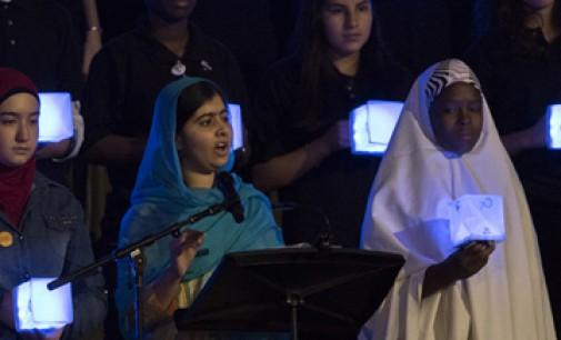 Малала Юсуфзай призвала мировых лидеров выполнить обещания, данные молодежи