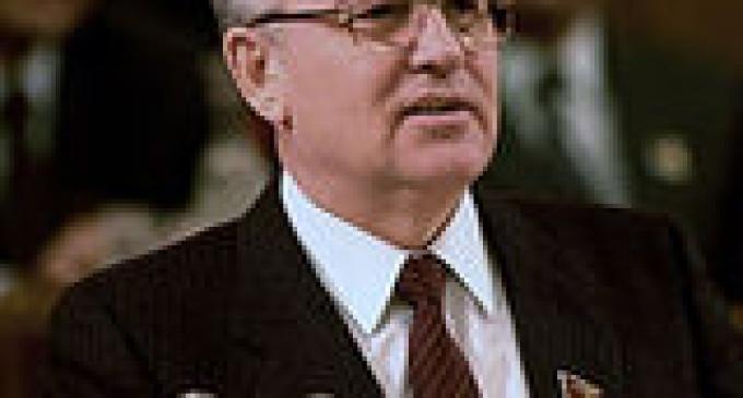 Михаил Горбачев пожертвовал 100 тысяч фунтов больным детям