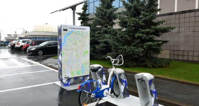 «Велогород» презентовал велостанции и велосипеды отечественного производства