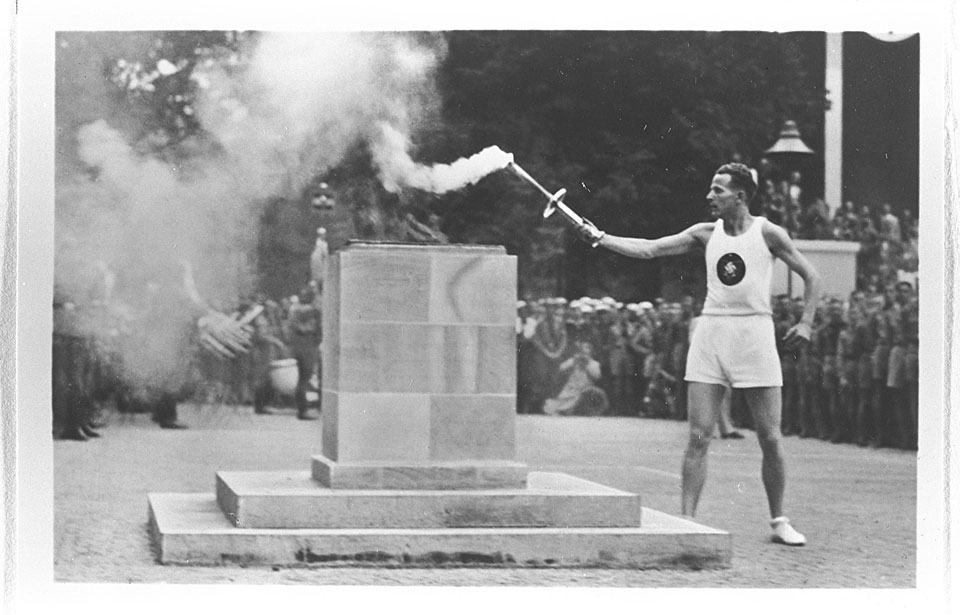 1936 summer olympics and adidas 1936 berlin summer games but when you think of the 1936 olympics, don't think of hitler or berlin or the propaganda or leni riefenstahl think of jesse and luz.