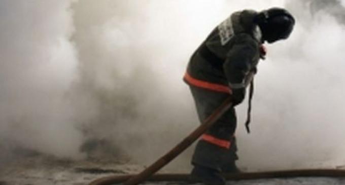 Пожарному вручили грамоту за мужество