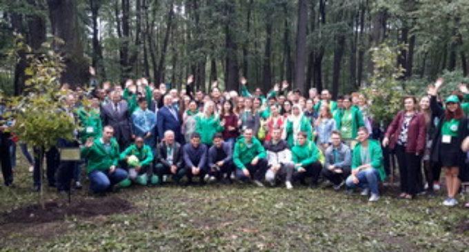 В Санкт-Петербургском лесотехническом университете появились деревья мира
