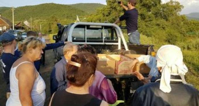 Жители Приморья готовы самостоятельно и бесплатно помочь подтопленцам