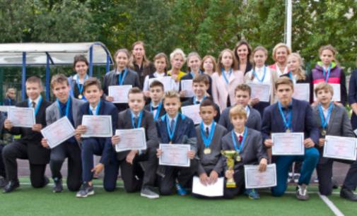 Гимназия N622 — победитель всероссийского конкурса «Олимпиада начинается в школе»
