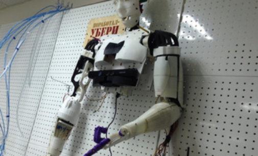 Тюменцы создают первого человекоподобного робота в области
