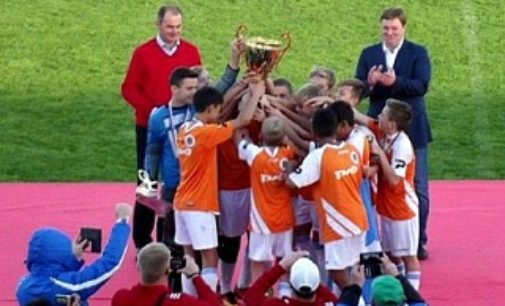 В Анапе  состоялся турнир по футболу «Кожаный мяч»