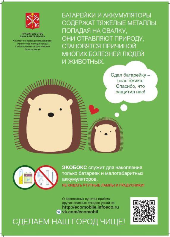 В Петербурге началась установка экобоксов в школах