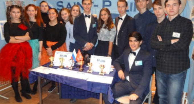 Школьники Петербурга покорили жюри Международного конкурса учебных фирм