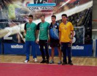 Студент ИФКиС взял три золота международных соревнований