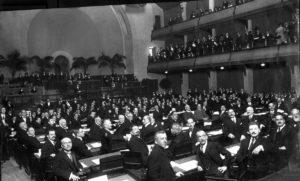 5612 Eerste zitting van de Volkenbond geneve 1920