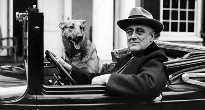 В один день с Рузвельтом, в один день с человеческим подвигом…