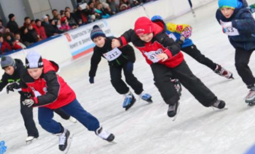 Открытые Всероссийские массовые соревнования по конькобежному спорту «Лед надежды нашей-2017»