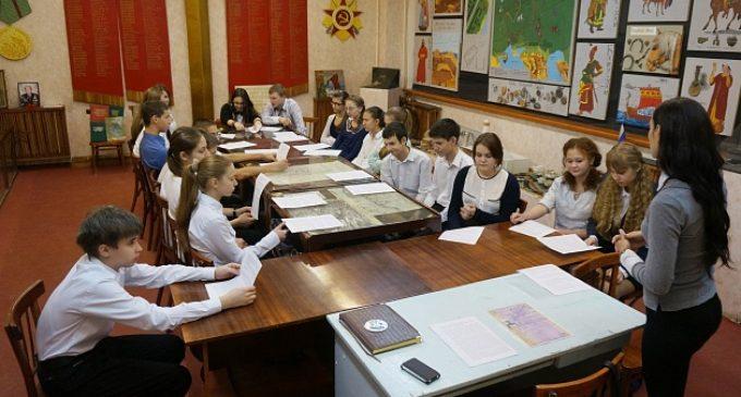 Школьники волгоградского региона участвуют в патриотических проектах