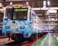 В московском метрополитене запустили именной поезд «Плехановец».