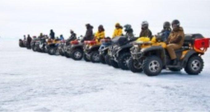 Участники экспедиции на квадроциклах «Лёд Байкала 2017» преодолеют около 900 км