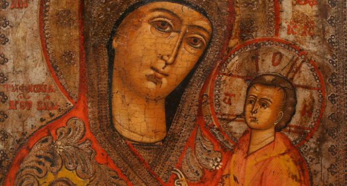 Редкие издания о Тихвинской иконе Пресвятой Богородицы – в фонде Президентской библиотеки