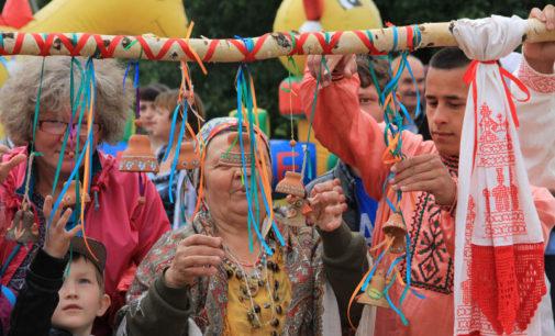 Ильинские гулянья в деревне Надкопанье