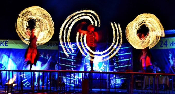 В аквапарке «Коктебель» пройдет II Международный фестиваль огненных театров «Крым Fire Fest»