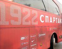 «Спартак» украсил клубный автобус именами самых преданных болельщиков