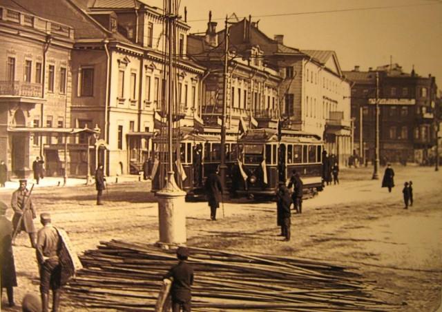 Трамвай старый-1