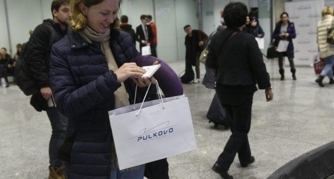 Аэропорт Пулково в новогодние праздники принял свыше 600 тысяч пассажиров