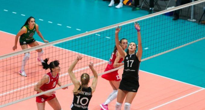Волейбол: «Уралочка» начала 2018 год с победы…