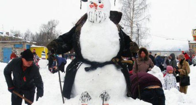 В Котласе в шестой раз пройдет конкурс снежных фигур