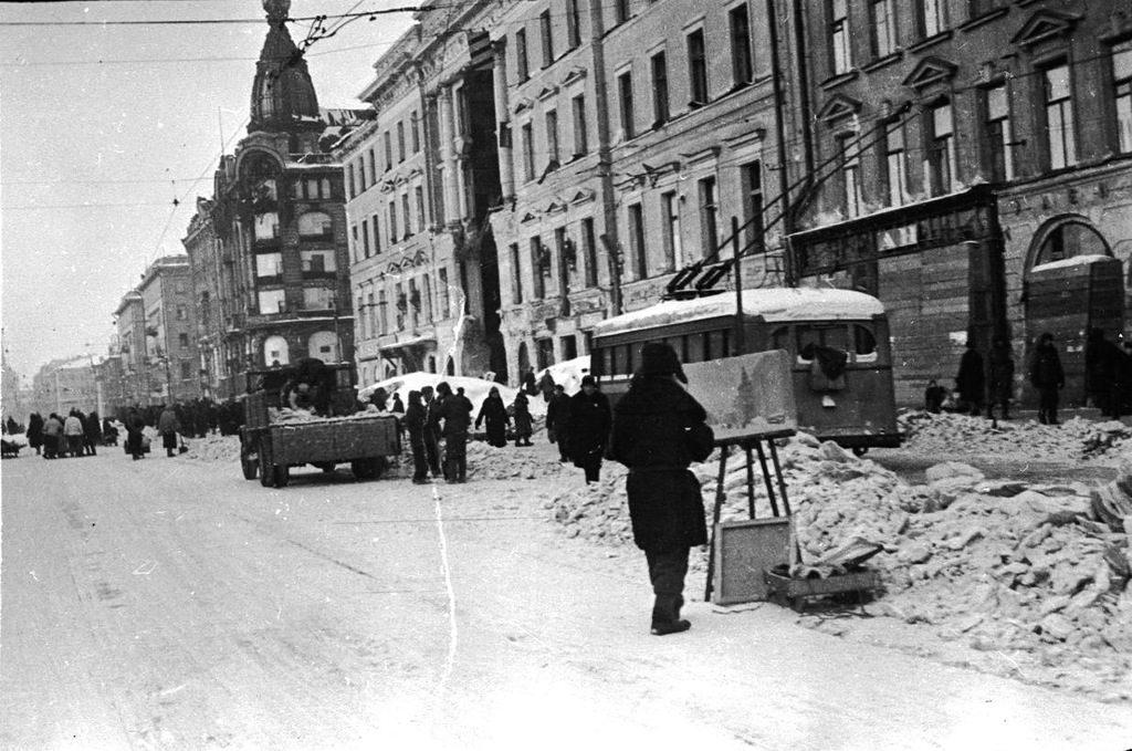 Ленинград-блокада-фото-2