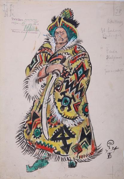 Литва Мстислава Добужинского-4