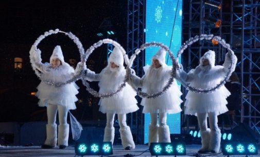 В новогодние каникулы ледовый городок «Перммяч» посетило рекордное количество гостей