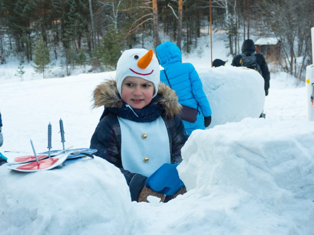 Роев ручей-парад снеговиков-5
