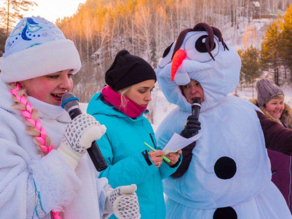 Роев ручей-парад снеговиков-9