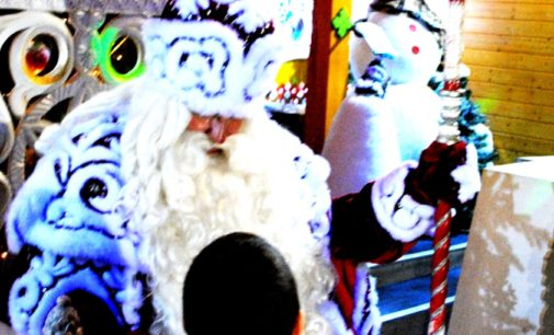 Дети погибших и раненых сотрудников Росгвардии и МВД впервые побывали в резиденции Деда Мороза