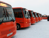 В Воркуте существенно обновился парк автобусной техники