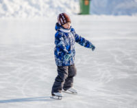 Южно-Сахалинский парк совершенствует технику заливки катка на стадионе «Космос»