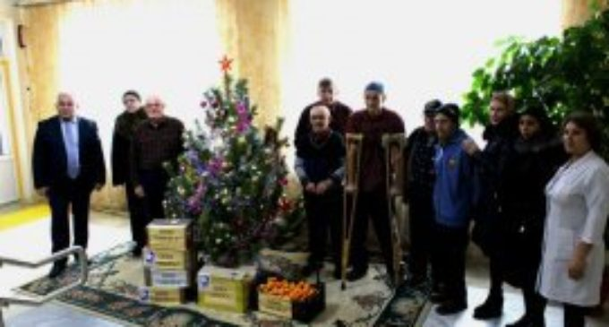 Каспийское новогоднее чудо…