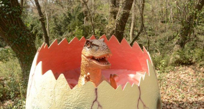 В Приморском парке Никитского сада «поселились» динозавры