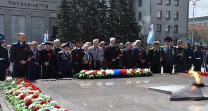 В Иркутске прошли мероприятия, посвященные 73-ей годовщине Победы в Великой Отечественной войне