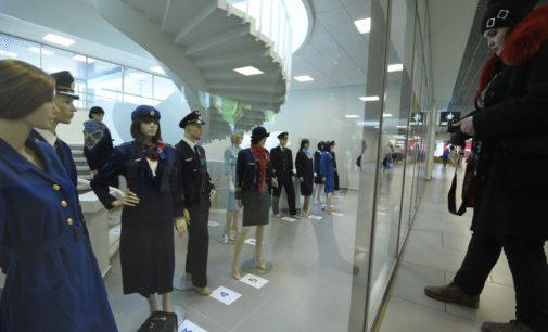 Пулково продлил до лета выставку форменной одежды авиаторов Ленинграда-Петербурга