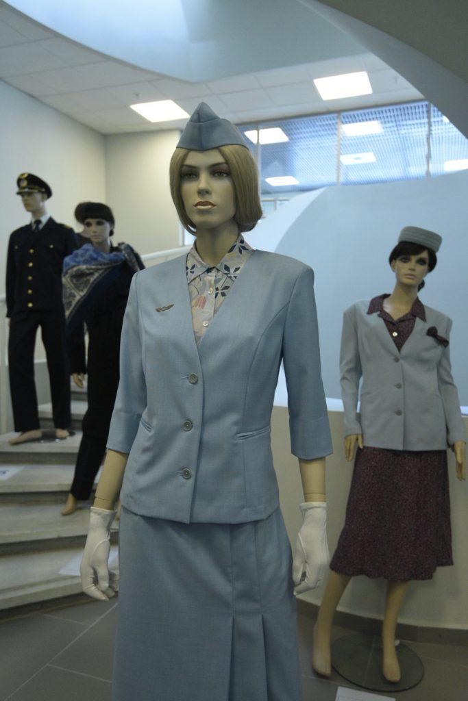 Летний костюм бортпроводника авиапредприятия Пулково 2004-2006 гг