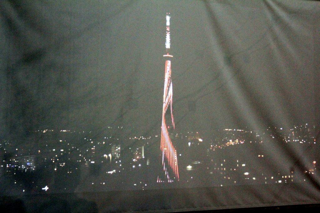Самара-свежая подсветка телебашни-2