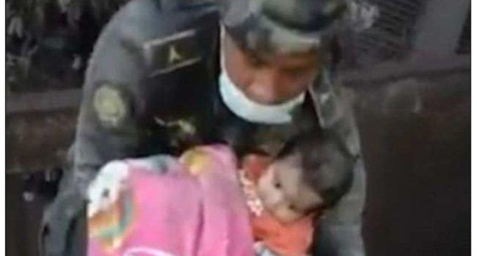 Младенца нашли под слоем пепла после извержения вулкана в Гватемале