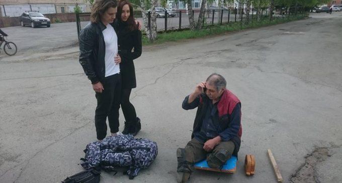 Супруги из Челябинска помогли бездомному инвалиду вернуться на родину в Нальчик