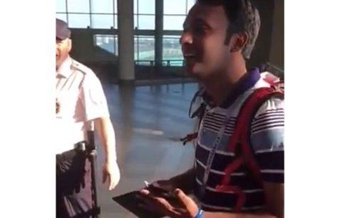 Самарские полицейские вернули иностранному болельщику портмоне с документами и деньгами