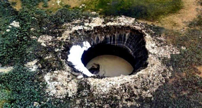 Геологи МГУ раскрыли тайну происхождения кратера на Ямале