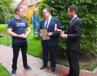 Фельдшер скорой помощи пожарной части Ольденбурга отмечен наградой за спасение россиянина