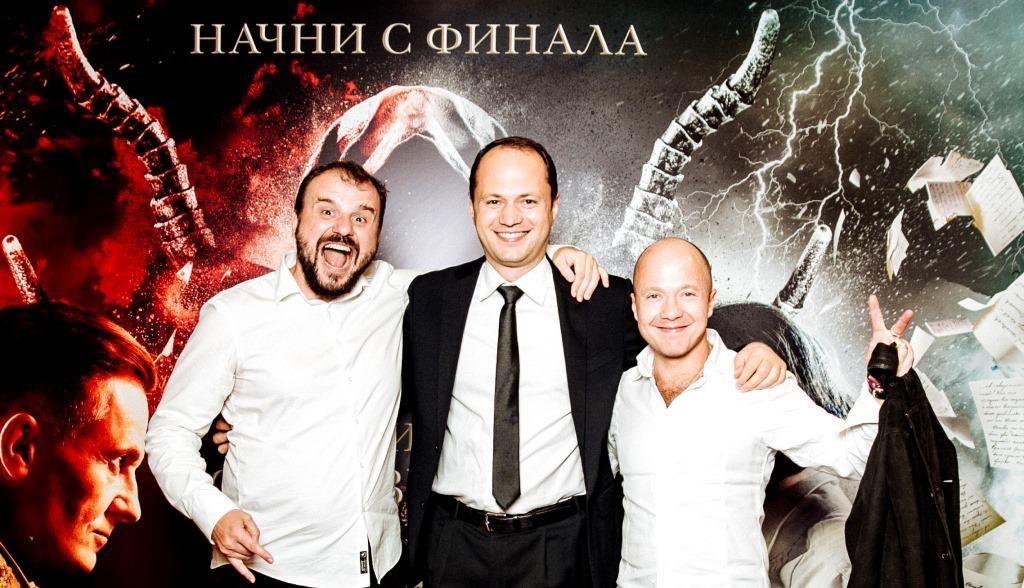 Fedorovich Valeriy, Nikishov Evgeniy, Stychkin Evgeniy