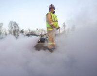 Пожарные в Нижнем Новгороде вынесли из горящего дома семь щенков